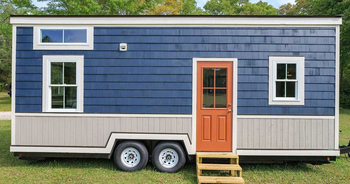 tour this beautiful 2 bedroom tiny house on wheels with us